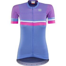 Sportful Diva 2 Jersey Donna, parrot blue/bubble gum/white